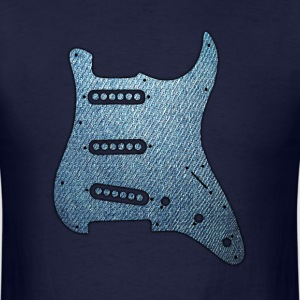 Guitar Pickguard - Men's T-Shirt
