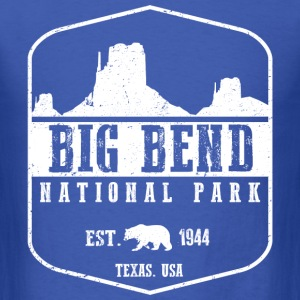 Big Bend National Park T-Shirts - Men's T-Shirt