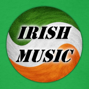 irish music - Men's T-Shirt
