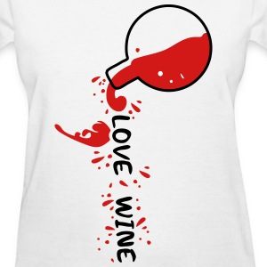 Love Wine Women's T-Shirt - Women's T-Shirt