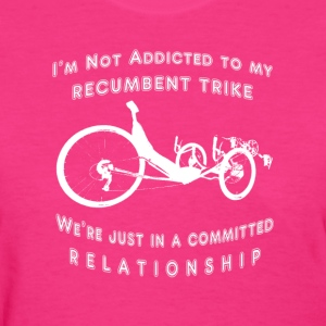 Committed (white ink) T-Shirts - Women's T-Shirt