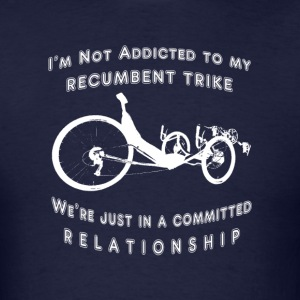 Committed (white ink) T-Shirts - Men's T-Shirt