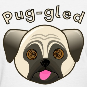 Humorous Pug - Puggled - Women's T-Shirt