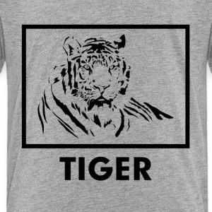 TIGER silhouette tattoo Baby & Toddler Shirts - Toddler Premium T-Shirt