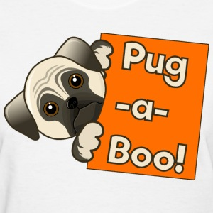 Pug -a-Boo Dog - Women's T-Shirt