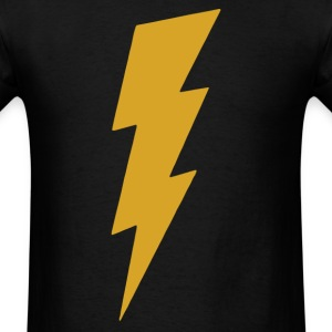 Lightning Bolt Camera Flash on T-Shirts - Men's T-Shirt