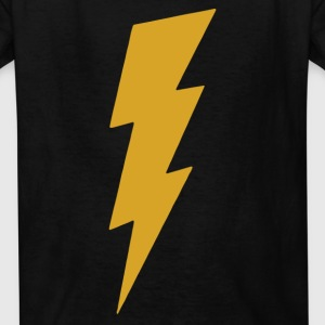 Lightning Bolt Camera Flash on Kids' Shirts - Kids' T-Shirt