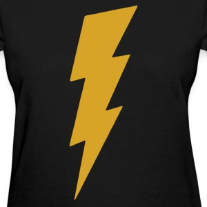 Lightning Bolt Camera Flash on T-Shirts - Women's T-Shirt