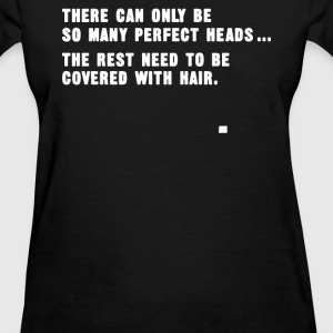 Perfect Head Funny Bald T-Shirts - Women's T-Shirt