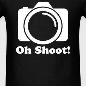 Oh Shoot Camera T-Shirts - Men's T-Shirt