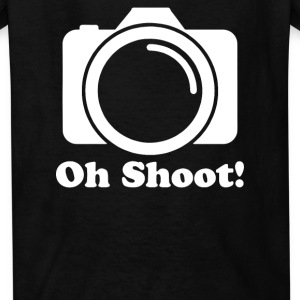 Oh Shoot Camera Kids' Shirts - Kids' T-Shirt