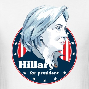 Hillary For President - Men's T-Shirt