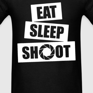 V5 Eat Sleep Shoot T-Shirts - Men's T-Shirt
