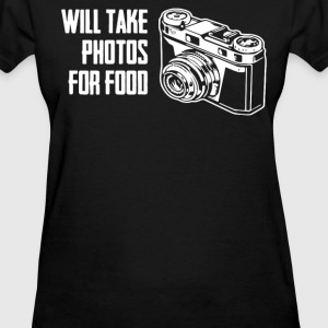 Will Take Photos For Food T-Shirts - Women's T-Shirt