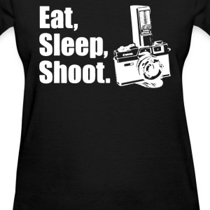 V6 Eat Sleep Shoot T-Shirts - Women's T-Shirt