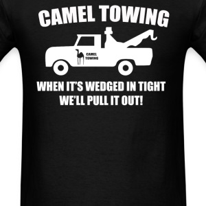 camel towing T-Shirts - Men's T-Shirt