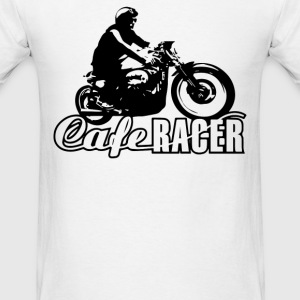 cafe racer vintage motorcycle biker T-Shirts - Men's T-Shirt