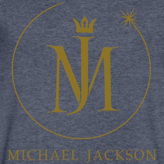 MJ Eclipse Logo Foil Men's Black V-Neck