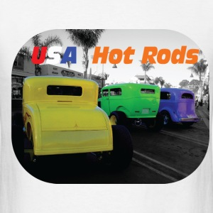 USA Hot Rods - Men's T-Shirt