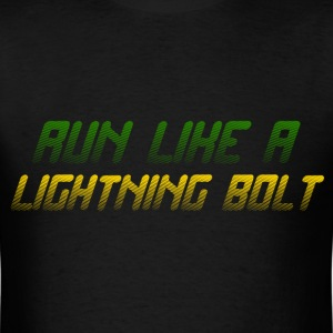 RUN LIKE A LIGHTNING BOLT T-Shirts - Men's T-Shirt