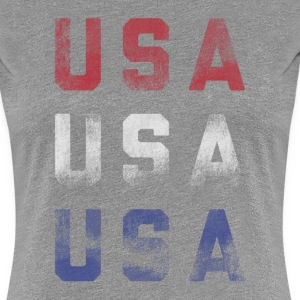 USA2 Women's - Women's Premium T-Shirt