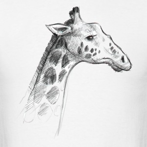 Sketchy Giraffe - Men's T-Shirt