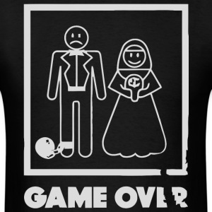 Game Over Wedding - Men's T-Shirt