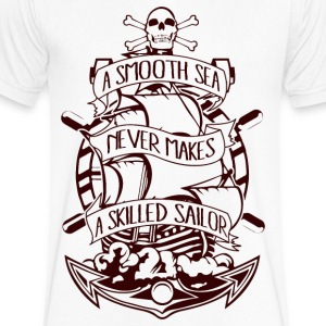 A Skilled Sailor - Men's V-Neck T-Shirt by Canvas