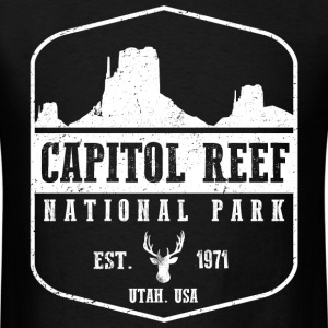 Capitol Reef National Par T-Shirts - Men's T-Shirt
