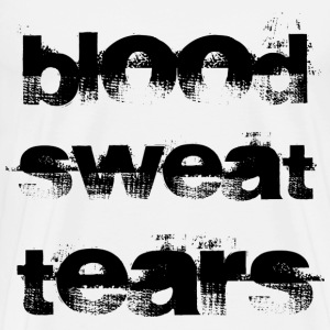 Blood sweat tears T-Shirts - Men's Premium T-Shirt