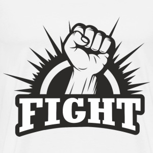 Fighting Fist T-Shirts - Men's Premium T-Shirt