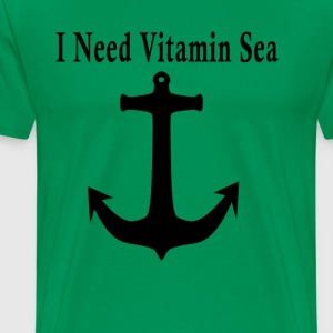 i_need_vitamin_sea_ - Men's Premium T-Shirt