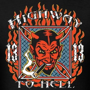 Highway To Hell Devil - Men's T-Shirt