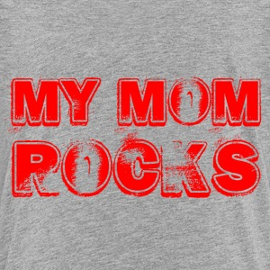 My Mom Rocks_red Kids' Shirts - Kids' Premium T-Shirt