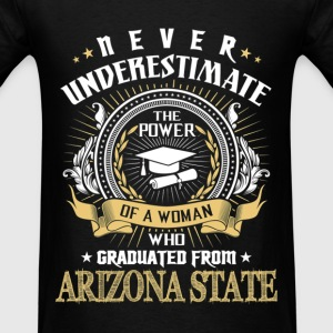 Never Underestimate   Graduated From ASU T-Shirts - Men's T-Shirt