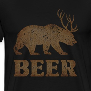 BEER DEER - Men's Premium T-Shirt