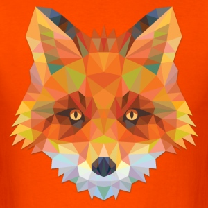 Polygonal Fox - Men's T-Shirt