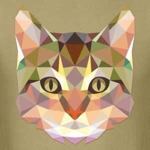 Polygonal Cat - Men's T-Shirt