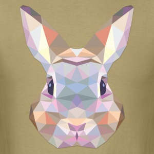 Polygonal Rabbit - Men's T-Shirt