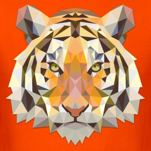 Polygonal Tiger - Men's T-Shirt