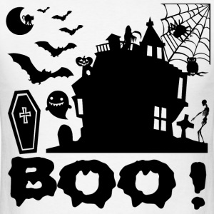BOO1.png T-Shirts - Men's T-Shirt