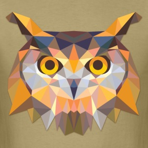 Polygonal Owl - Men's T-Shirt