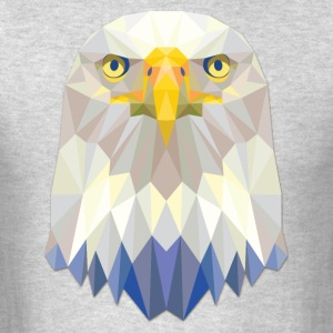 Polygonal Eagle - Men's T-Shirt