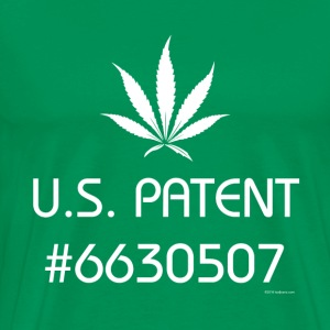 U.S. Patent #6630507 Leaf - Men's Premium T-Shirt