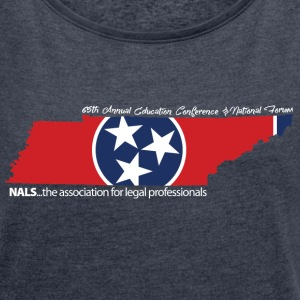 NALS 65th Conference - Women's Classic Design - Women's Roll Cuff T-Shirt