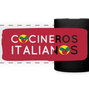 Cocineros Italianos Theme Mugs & Drinkware - Full Color Panoramic Mug