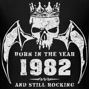 born_in_the_year_198219 T-Shirts - Men's T-Shirt