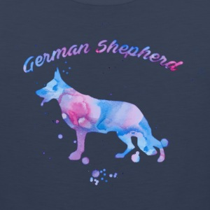 Watercolor Shepherd Sportswear - Men's Premium Tank