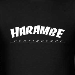 Harambe rest in peace T-Shirts - Men's T-Shirt