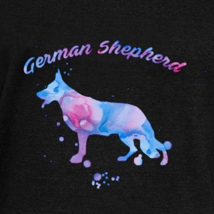 Watercolor Shepherd Long Sleeve Shirts - Women's Wideneck Sweatshirt
